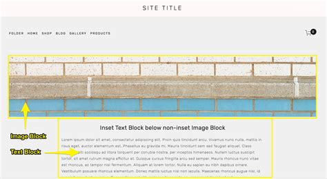 Full Bleed Images Squarespace Help Brine Template Squarespace