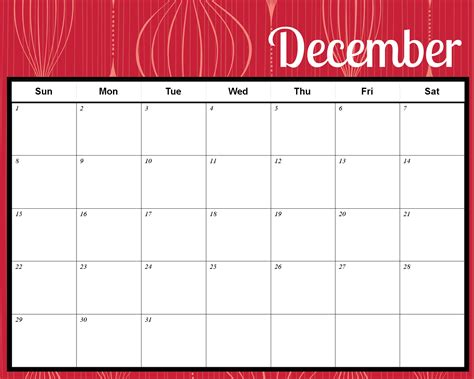 8 best images of printable christmas calendar free