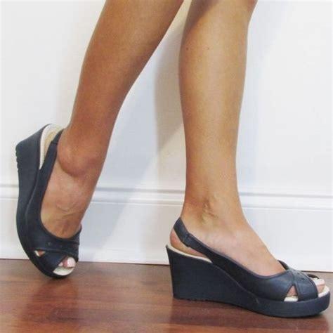 69 crocs shoes crocs farrah 3 quot wedge comfort from