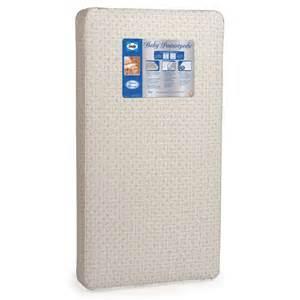 Crib Mattress Sealy Sealy 174 Baby Posturepedic 174 Crib Mattress