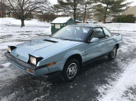 subaru xt coupe turbo 4wd for sale in lockport new york united states 86 subaru xt gl 10 turbo 4wd only 68k miles 1 owner runs like new must see