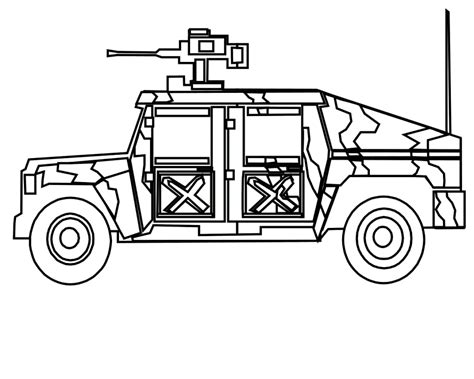 coloring page army truck transportation coloring sheets military vehicles coloring
