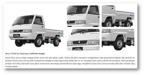 Suzuki Carry 1 5 Suzuki Carry 1 5 Futura Up Suzuki Indonesia