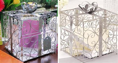 Reception Gift Card Holder - wedding card boxes gift reception box pictures