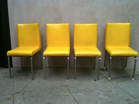 Yellow Chairs For Sale Design Ideas Original And Bright Modern Yellow Leather Dining Chairs Dining Chairs Design Ideas Dining
