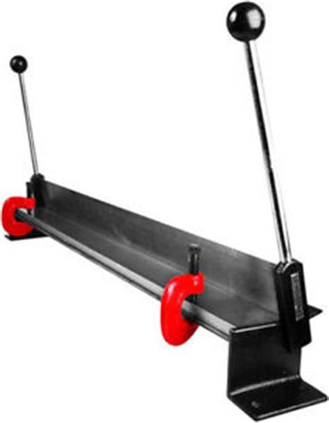 bench brake 30 quot square sheet metal steel hand bender bench mounted
