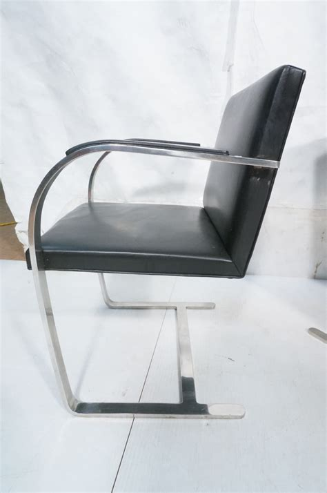 C Chairs For Heavy by 4 Knoll Assoc Heavy Chrome Brno Chairs Black Lea