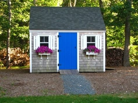 backyard shed ideas colorful garden sheds apartment therapy
