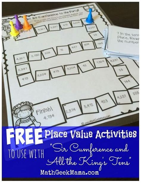 printable math games on place value 23 ready to print math lessons grades 1 6 activities