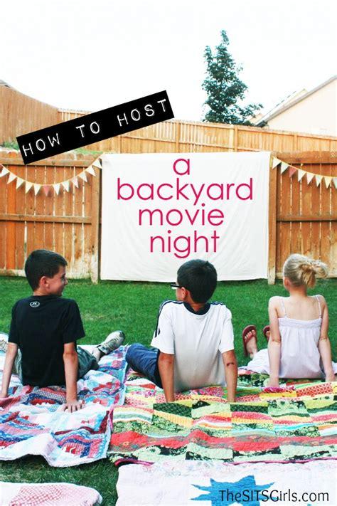 pics photos outdoor movie party ideas movie night birthday party
