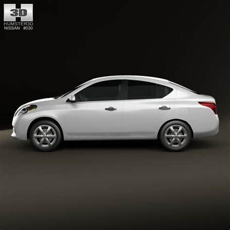 nissan tiida hatchback 2012 nissan versa tiida sedan 2012 3d model hum3d
