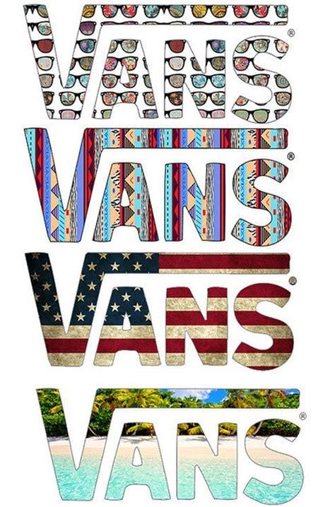 vans pattern corp original vans logo typography pinterest posts