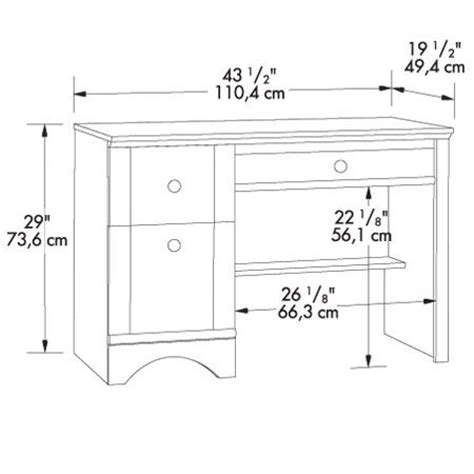 Furniture Standard Dimensions In Cm by Best 25 Desk Dimensions Ideas On Counter Bar