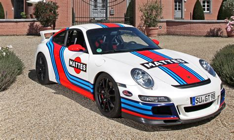 martini porsche germany is mad for car wraps martini style racing livery