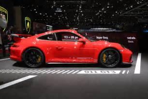 Porsche 911 Gt3 2018 Porsche 911 Gt3 Look Review