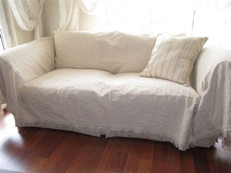slipcover throws sofa large sofa throw covers rectangle tassel ivory couch