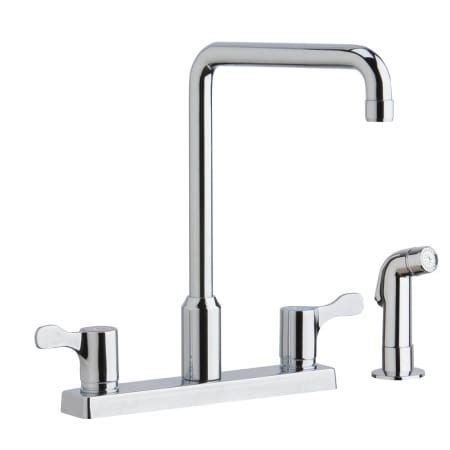 elkay lkd2443c chrome high arc widespread kitchen faucet