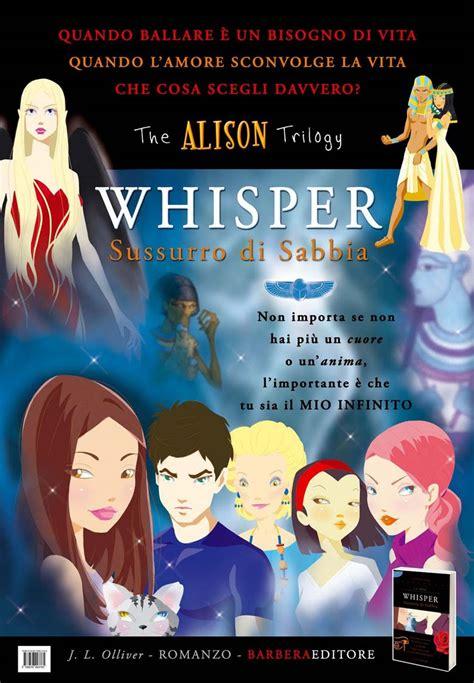 libro whisper the autore jlolliver