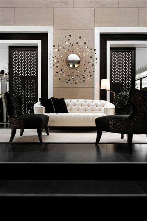 Deco Blanc Et Beige by D 233 Co Salon Noir Blanc Beige Exemples D Am 233 Nagements