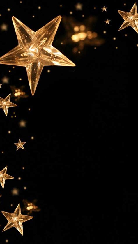 wallpaper with gold stars gold stars on black backgrounds wallpapers pinterest