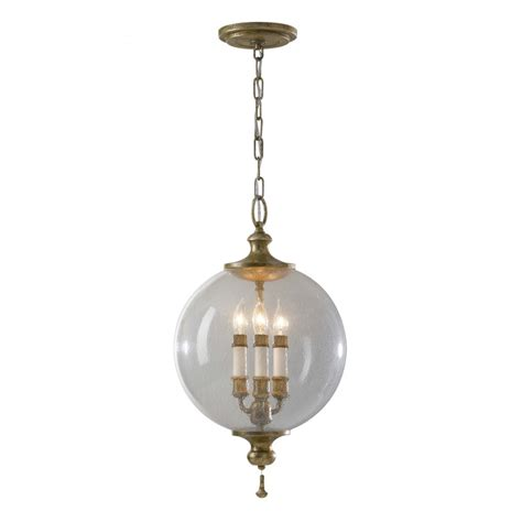 Traditional Pendant Light Traditional Ceiling Pendant Light Globe Shape Silver Flecked Glass