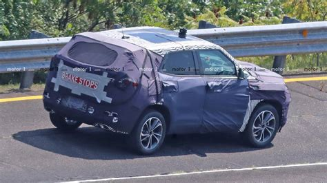 All New Chevrolet Trax 2020 by Redesigned 2020 Chevrolet Trax Suv Spied For The Time