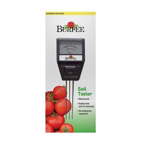 burpee electric soil tester   home depot