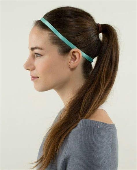 elastic hair band hairstyles as 25 melhores ideias de hairband hairstyle no pinterest