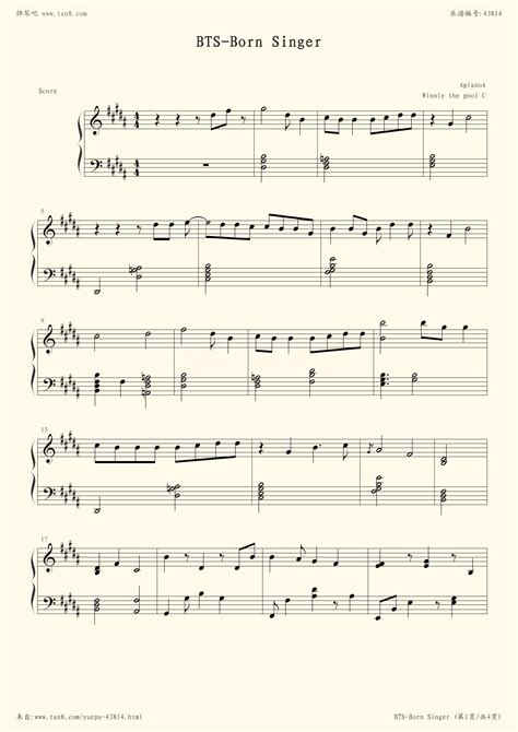 bts born singer chords 防弹少年团run数字简谱分享 防弹少年团run数字简谱图片下载