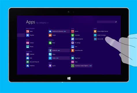 window screens enable touch screen on windows 8