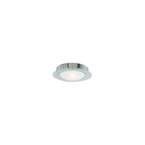 chrome and opal glass flush fitting bathroom ceiling light ip44 searchlight electric 3108cc bathroom ceiling light buy at lightplan