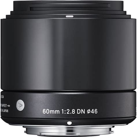 Sigma 60mm F 2 8 Dn A For Sony sigma 60mm f 2 8 dn lens for sony e mount cameras black