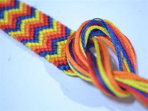 chevron friendship bracelet wikihow   jewelry chevron friendship bracelets