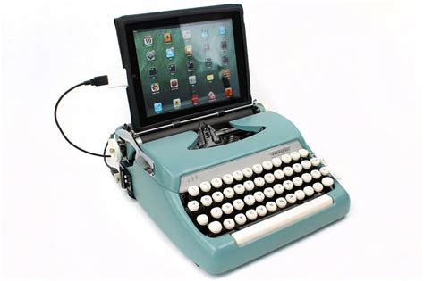 what do you think are these way cool apps android coliseum real typewriters become retro usb keyboards bit rebels