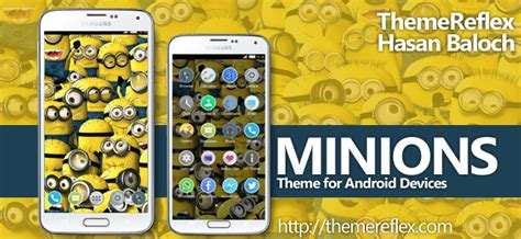 themes android minions minions theme themereflex