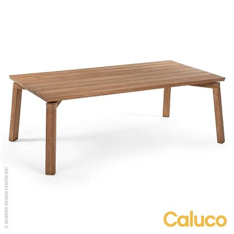 Caluco Patio Furniture Sixty Dining Rectangle Table Caluco Patio Furniture Metropolitandecor