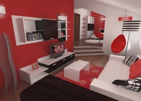 red and white bedroom furniture perfect inspiring contemporary bedroom in red black and