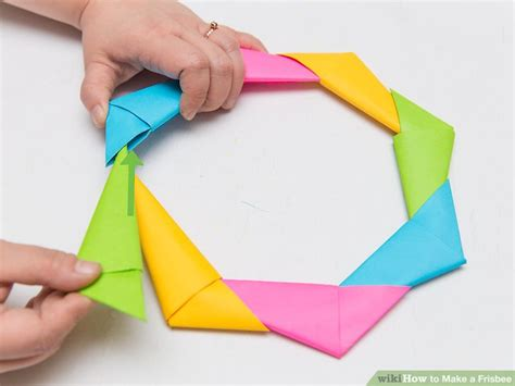 Origami Frisbee - 3 ways to make a frisbee wikihow