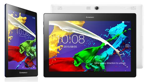 Tablet Android Lenovo Tablet 2 lenovo introduces tab 2 a8 and a10 70 android tablets at