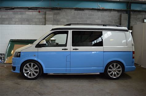 two tone vw cer conversion blue white t5 cer