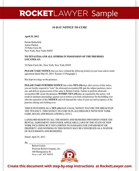 Rent Demand Letter New York Eviction Notice Ny New York State Eviction Notice Form With Sle