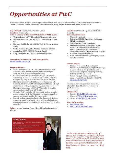 Application Letter Pwc Pwc Internship Cover Letter Sle Essayhelp169 Web Fc2