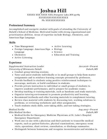Resume Help Ucf by Ucf Sarc Supplemental Leader Resume Sle