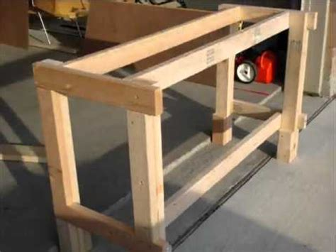 easy work bench how to build a workbench in only a few steps youtube