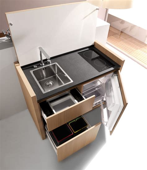 compact design the k1 complete kitchen in one unit
