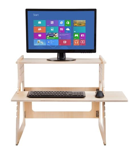 adjustable home office desk adjustable plywood standing desk for home office