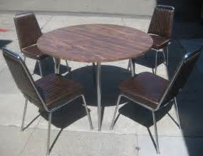 retro kitchen table and chairs uhuru furniture collectibles sold retro kitchen table