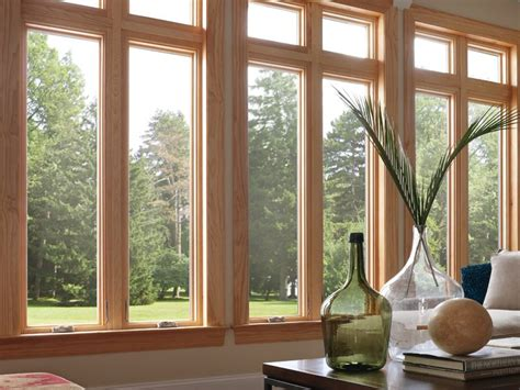 milgard awning windows inside view of milgard essence casement wood windows