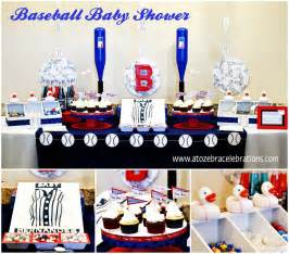 baseball baby shower a to zebra celebrations