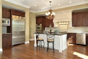 Two Tier Kitchen Island 43 quot new and spacious quot darker wood kitchen designs amp layouts